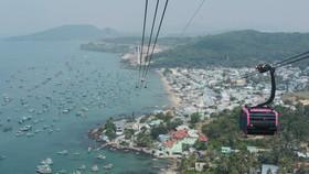 Cáp treo trên đảo Phú Quốc được phép hoạt động trở lại