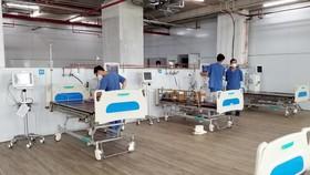 Hơn 20 ngày thần tốc cải tạo Trung tâm hồi sức tích cực người bệnh Covid -19