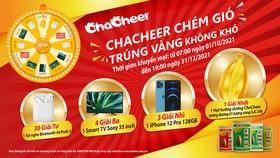 """Vedan Việt Nam tổ chức chương trình  khuyến mãi : """"Chacheer chém gió - Trúng vàng không khó"""""""