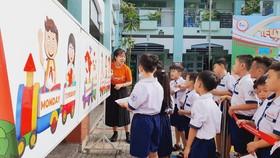 Buổi học ngoại khóa của học sinh trong hệ thống trường thuộc Tập đoàn giáo dục EQuest