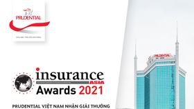 """Prudential Việt Nam nhận giải thưởng kép, được vinh danh là """"Công ty bảo hiểm nhân thọ quốc tế của năm"""" tại Insurance Asia Awards 2021"""