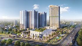 Dự án Charm City do Công ty DCT (thành viên Charm Group) đang phát triển tại Bình Dương