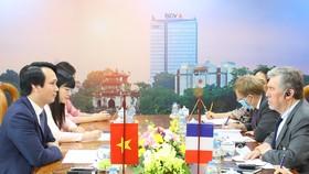 Buổi làm việc giữa BIDV và AFD