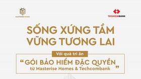 Masterise Homes hợp tác cùng Techcombank mang đến khách hàng những giá trị đặc quyền khác biệt