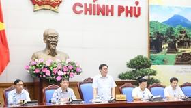Phó Thủ tướng Vương Đình Huệ chủ trì họp Ban Chỉ đạo Điều hành giá. Ảnh: VGP