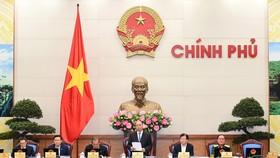 Thủ tướng Nguyễn Xuân Phú chủ trì phiên họp Chính phủ thường kỳ tháng 10/2017. Ảnh: VGP