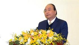 Thủ tướng Nguyễn Xuân Phúc phát biểu kết luận tại Hội nghị Chính phủ mở rộng