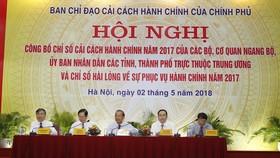 Ngân hàng Nhà nước và tỉnh Quảng Ninh dẫn đầu chỉ số cải cách hành chính 2017