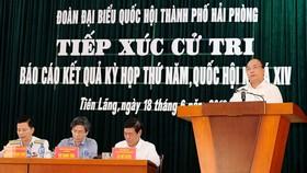 Thủ tướng Nguyễn Xuân Phúc: Xử lý nghiêm hành vi lợi dụng tình hình, kích động người dân