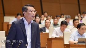 Thống đốc Ngân hàng Nhà nước, ảnh quochoi.vn