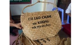 """Tiếp tục nhân rộng chiến dịch """"Cù Lao Chàm nói không với túi ni lông"""""""