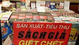 Đề nghị xử hình sự hành vi in lậu sách