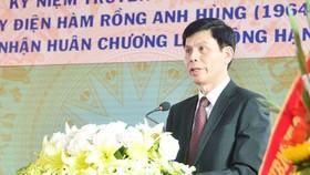 Ông Lê Anh Tuấn, Phó Chủ tịch UBND tỉnh Thanh Hóa vừa được Thủ tướng Nguyễn Xuân Phúc ký quyết định bổ nhiệm giữ chức vụ Thứ trưởng Bộ Giao thông vận tải