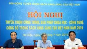"""Hội nghị công bố """"Sách vàng Sáng tạo Việt Nam"""" năm 2019"""