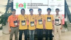 Đội tuyển Việt Nam dự thi Olympic Tin học quốc tế 2019