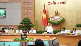 Chính phủ họp phiên thường kỳ tháng 9-2019.. Ảnh: VGP