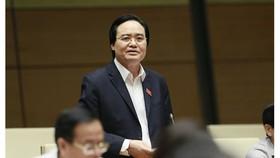 Bộ trưởng Phùng Xuân Nhạ, ảnh Viết Chung