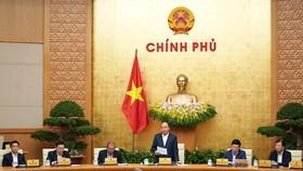 Chính phủ họp ngày 2-12, Ảnh: VGP