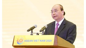 Thủ tướng Nguyễn Xuân Phúc phát biểu tại lễ khởi động Năm Việt Nam Chủ tịch ASEAN 2020.