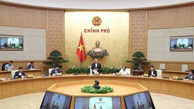 Thủ tướng họp với các doanh nghiệp ngày 12-3