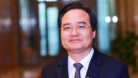 Ông Phùng Xuân Nhạ, Bộ trưởng Bộ Giáo dục - Đào tạo