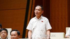 ĐB Lê Thanh Vân. Ảnh: QUOCHOI
