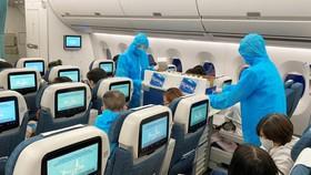 Vietnam Airlines phối hợp tổ chức nhiều chuyến bay đưa công dân Việt Nam về nước