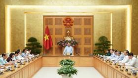 Thủ tướng chủ trì họp về điều hành giá. Ảnh: QUANG PHÚC