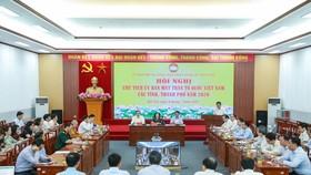 Hội nghị trực tuyến Chủ tịch Ủy ban MTTQ Việt Nam các tỉnh, thành phố năm 2020
