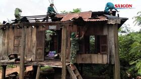 Sau bão số 5, hỗ trợ gia đình có người chết 5 triệu đồng; có người bị thương nặng 3 triệu đồng
