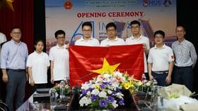 Đội tuyển Việt Nam dự Kỳ thi Olympic Toán quốc tế