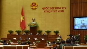 Quốc hội khóa XIV khai mạc trọng thể kỳ họp thứ 10, ảnh QUANG PHÚC