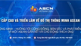 Diễn đàn cấp cao về đô thị thông minh ASEAN 2020