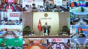 Hội nghị sáng 29-10 về tình hình thực hiện, giải ngân các chương trình, dự án ODA, vốn vay ưu đãi nước ngoài. Ảnh: VGP