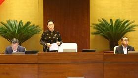 Bộ trưởng Bộ Nông nghiệp và Phát triển nông thôn Nguyễn Xuân Cường. Ảnh: QUANG PHÚC
