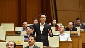 Quốc hội ngày 4-11, ảnh QUANG PHÚC