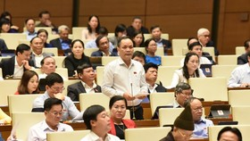 Quốc hội ngày 10-11. Ảnh: QUANG PHÚC
