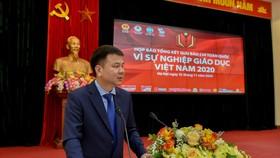 """Họp báo công bố giải báo chí toàn quốc """"Vì sự nghiệp Giáo dục Việt Nam"""" 2020"""