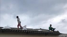 Di dời dân, chằng chống nhà cửa trước cơn bão số 13