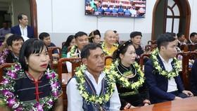 Các đại biểu dự lễ tuyên dương