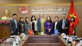 Các đại biểu Việt Nam tham dự Hội nghị trực tuyến của Tổ chức Bộ trưởng Giáo dục các nước Đông Nam Á