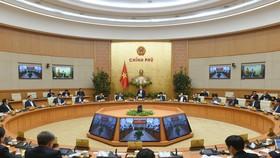 Chính phủ họp phiên thường kỳ tháng 1-2021. Ảnh: VIẾT CHUNG