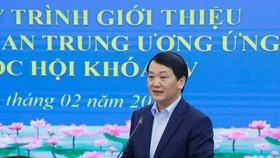 Phó Chủ tịch – Tổng Thư ký Ủy ban Trung ương MTTQ Việt Nam Hầu A Lềnh