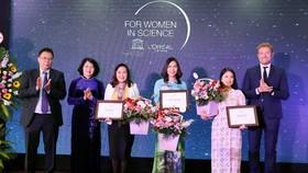 3 nhà khoa học nữ nhận giải L'Oreal – UNESCO For Women in Science năm 2019