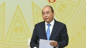Thủ tướng phát biểu tại hội nghị chiều 11-3