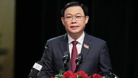 Đồng chí Vương Đình Huệ được giới thiệu để bầu Chủ tịch Quốc hội