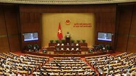Kỳ họp 11 Quốc hội XIV. Ảnh: VIẾT CHUNG