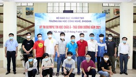 Đội tuyển Việt Nam tham dự Olympic Tin học Châu Á - Thái Bình Dương 2021