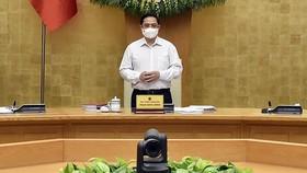 """Họp Chính phủ thường kỳ, Thủ tướng Phạm Minh Chính yêu cầu: """"Nghĩ thật, nói thật, làm thật, hiệu quả thật"""""""