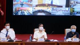 """Hội nghị trực tuyến toàn quốc tổng kết 8 năm thực hiện Đề án """"Xây dựng xã hội học tập giai đoạn 2012-2020"""""""